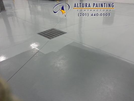 Floor painting