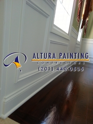 Professional interior painting.