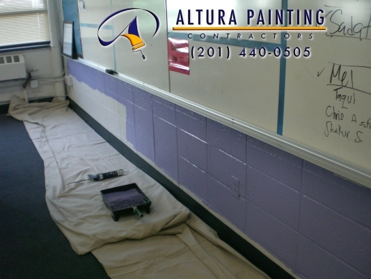 Altura Painting - School Painting - Newark, NJ