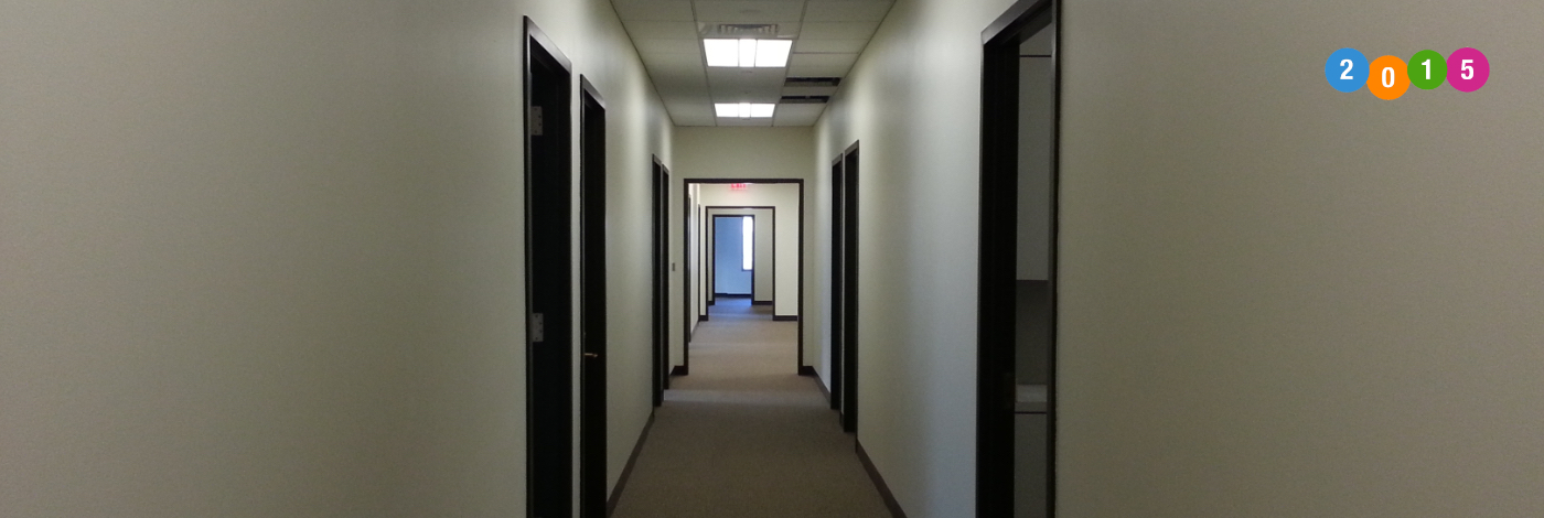 NJ painting contractor office building